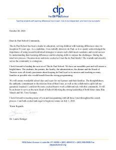 Dr. Bottiger_Community_Letter