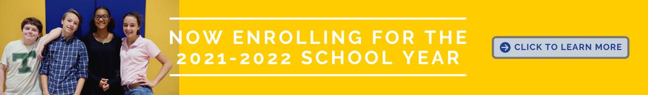 2021-2022 Enrollment Information for de Paul School