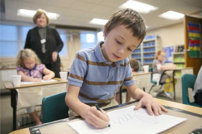 Kindergarten Corner | The de Paul School